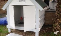 Children Timber cubby house for sale - in a very good