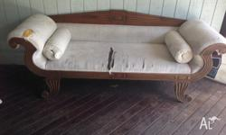 Solid Timber Balinese day bed, excellent structual
