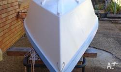 11 ft Timber Dinghie ideal for car toping,Goes well