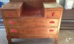I have a lovely old chest of drawers for sale. They are