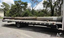 Timber Piles - CCA Treated - Second Hand, Boat