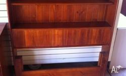 Timber (single) bed furniture for sale as follows: -