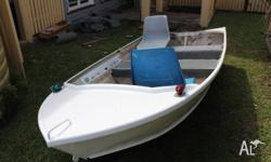 3,3m Stessl tinnie in very good condition. the boat is