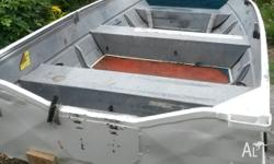 Dinghy only. No leaks. Clarke 12ft, painted inside and