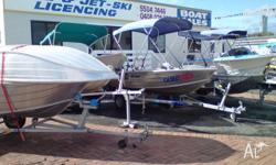 TINNIES and OUTBOARDS LARGE RANGE of SECOND HAND,