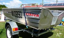 stacer 350 proline v nose punt 2007 hull only will swap