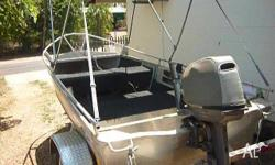 GREAT LITTLE CRABBING BOAT, COMES WITH HEAPS OF EXTRAS.
