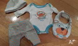 Tiny Little Wonders Lion set - only worn once, size