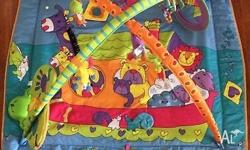 Extra large tummy time, activity mat/play gym.