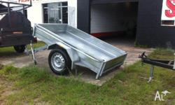 TIPPER TRAILERS FULL GAL EXTENED DRAW BAR, 2011,