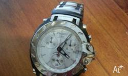 Tissot T Race T472s stainless steel case and sapphire
