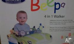 Beep Toddler Car Walker. Ideal for any toddler who just