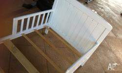 Mothers choice toddler bed. Used condition as in