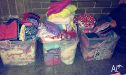 Huge amount of good quality girls toddler clothes (sz