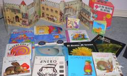 Lovely children's books in Italian age group 8 months-4