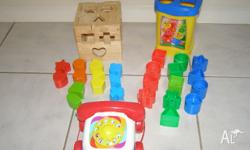 Fisher Price Shape Sorter Fisher Price Telephone Wooden