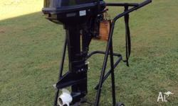 9.8 TOHATSU outboard 2007 serviced in April 2014 and