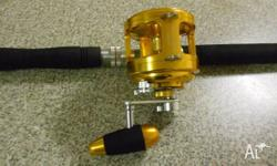 Tomman Sea Game SG-20 Reel: - Not used & excellent