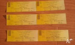 6 x Tommy Emmanuel concert tickets available for sale