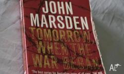 Tomorrow When the War Began by John Marsden In good