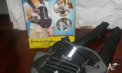 I have for sale a Tomy Babycarrier 'freestyle cool',