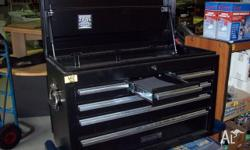 GeelongTool Box - New Top Quality 6 Drawer, Solid, -