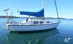 Top Hat 25ft mk 3 yacht Sailed Parcific! Special