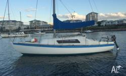 """Good Folly"" - is a Fiberglass production yacht built"