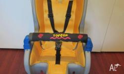 Toddler�Child bike seat in excellent condition complete