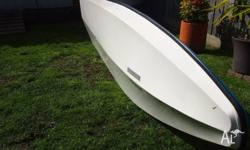 Light weight boat built for two people, easy to rig,