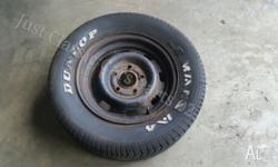 In good used condition tyre no good has some surface