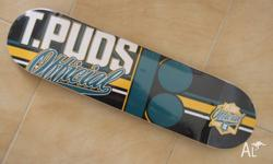 TOREY PUDWILL PRO MODEL BOARD 8.25 INCH WIDE BRAND NEW