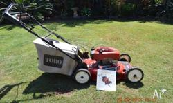Very good condition 12 months old Self propelled, 6.5hp
