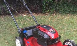 Starts easy and runs well Briggs and Stratton 7hp 190cc