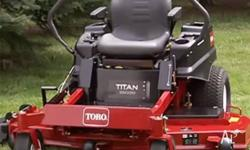 Fully Serviced Toro Ride on Mower Titan 60 Inch Deck