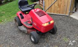 Toro Wheel Horse 17.38 HXL ride on lawn mower with new