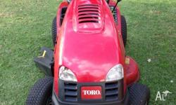 I have a Toro XLS 380 lawn tractor for sale. It is in