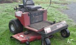 Engine recently overhauled. New blades, belts. chains,