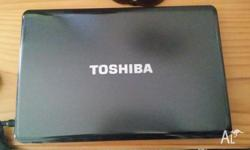 "Toshiba satellite A660 15.6"", intel core i7, 4gb ram,"