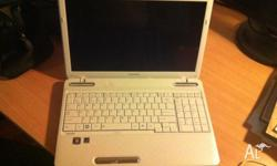 Very good condition and a solid laptop. Windows 7 Home