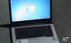 This is a Toshiba Satellite Pro L300 It has a Core 2