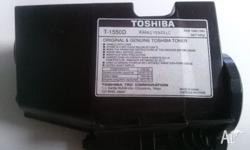 I have a Toshiba Ink Cartridge that is virtually full.