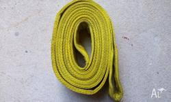 5m long by 90mm wide. This is a strap which used on the