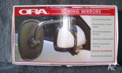 TWO TOWING MIRRORS IN VERY GOOD CONDITION USED ONLY