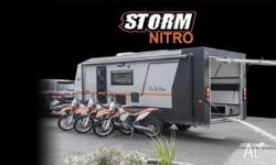 The new 'STORM NITRO' the ultimate adventure/family