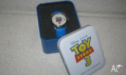 Toy Story 3 watch Brand new in tin Pick up from