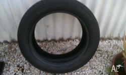 FOR SALE IS A TOYO TYRE 2012 MANUFACTURE, TREAD IS GOOD