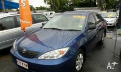 TOYOTA,CAMRY,2004, Blue, SEDAN, PETROL, AUTOMATIC,