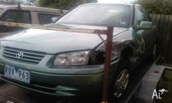 For sale is a camry sedan csx has front side damage and
