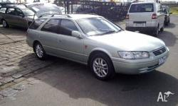 TOYOTA, CAMRY, MCV20R (II), 2001, FWD, GREEN, 4D WAGON,